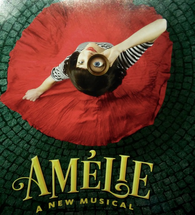 Photo of the Program from Sept. 27th, 2015 performance of Amélie.